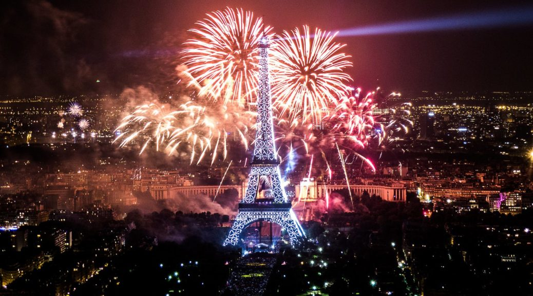 New Year 2020 Celebration In France